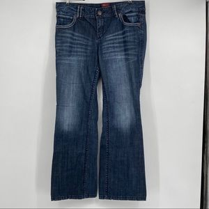 Torrid Size 18 Denim Jeans w Silver Top Stitching